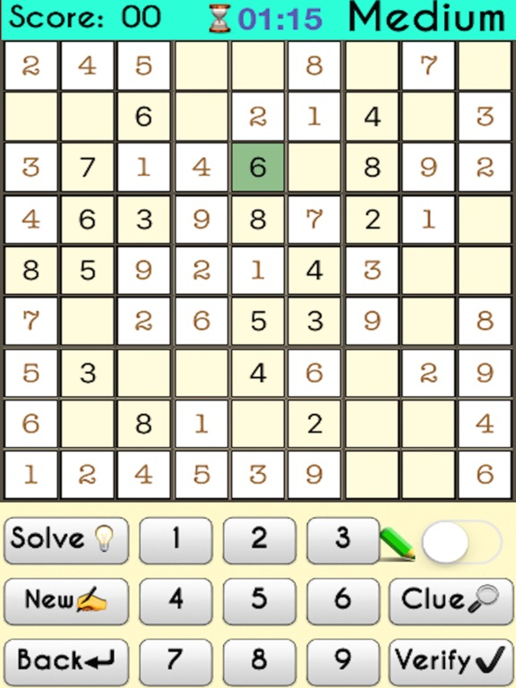 Sudoku -:- Premium screenshot 7