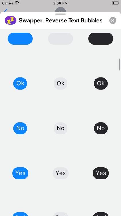 Swapper: Reverse Text Bubbles screenshot-4