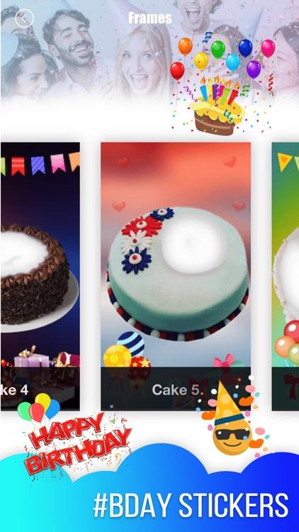 Birthday Cake Photo Frame 2018 By Patel Ravjibhai