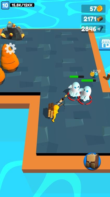 Buildy Island 3d: Chop & Craft screenshot-5
