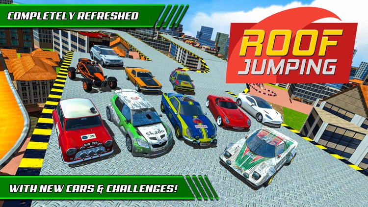 Roof Jumping: Stunt Driver Sim screenshot-0