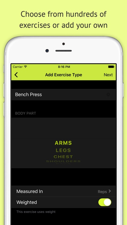 Gains - Log your workouts
