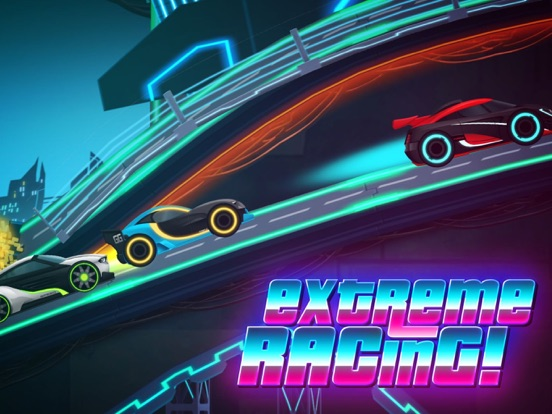 Игра Neon Rider Drives Sports Car