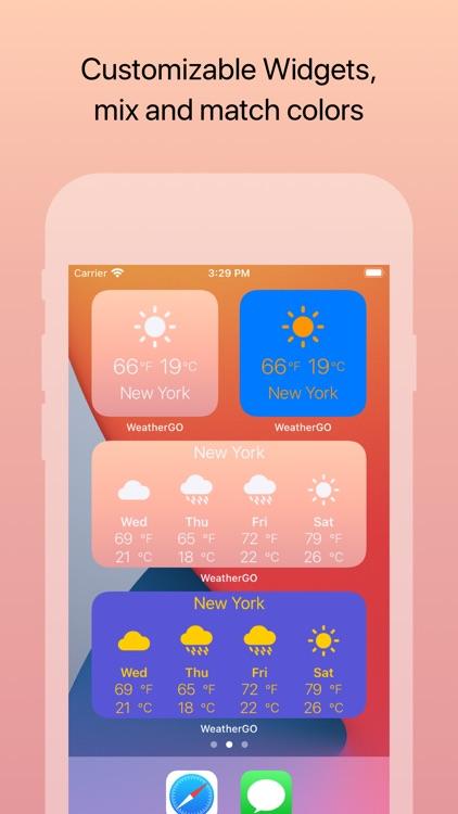 Weather GO: Celsius Fahrenheit