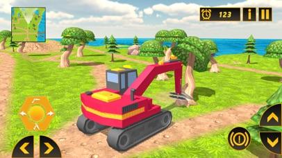 Heavy Crane Excavator 2018 screenshot 3