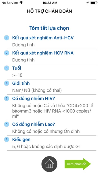 HepiCARE: Chẩn đoán VGSV C HCV screenshot-5