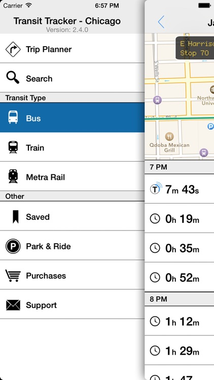 Transit Tracker - Chicago