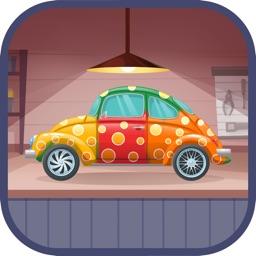 Car Maker Garage for kids