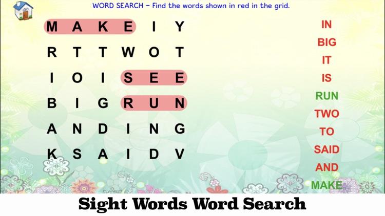 Sight Words Games & Activities screenshot-8