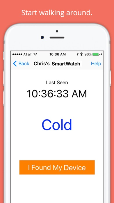 Find My Device - Bluetooth 4.0 Screenshots