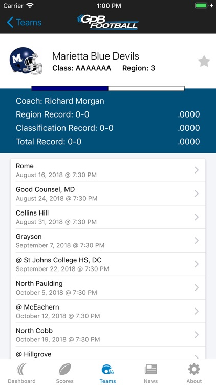 GPB Sports: Football screenshot-3