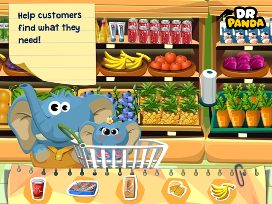 Dr. Panda Supermarket Screenshots