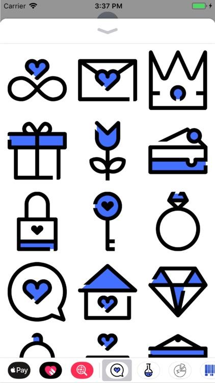 Love Stickers Pro
