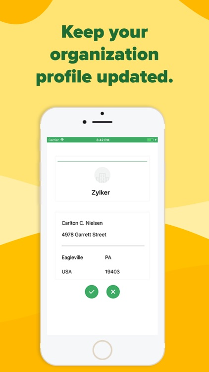 expense report generator by zoho corporation