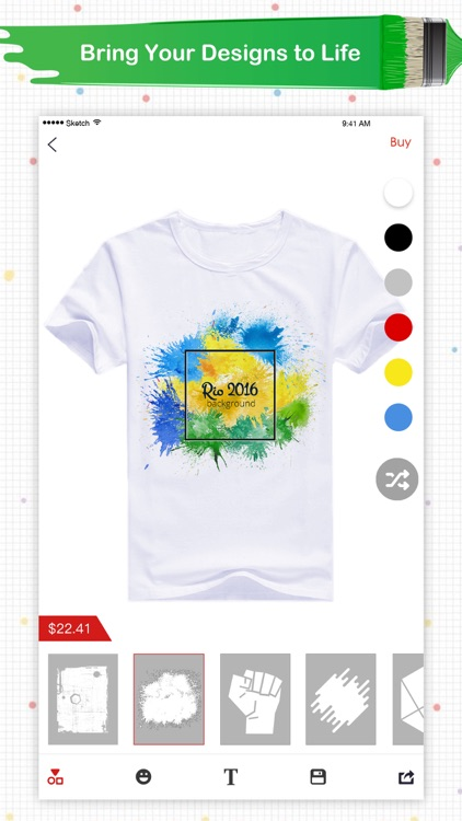 Super T-Shirt Designer