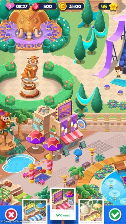 Disney Pop Town! Match 3 Games screenshot-9