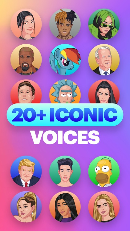 Funny Celebrity Voice Changer