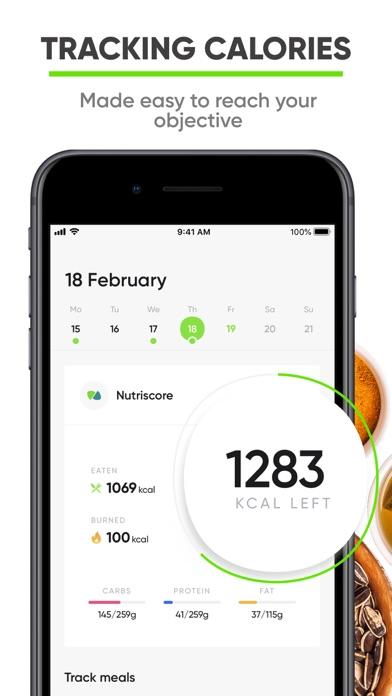 Nutrition Coach - Food tracker screenshot 1