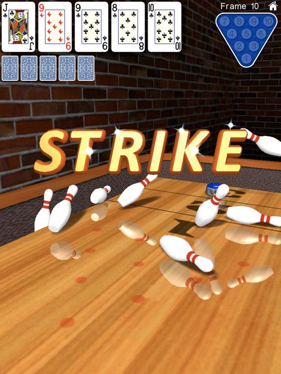 Ipad Screen Shot 10 Pin Shuffle Bowling 1