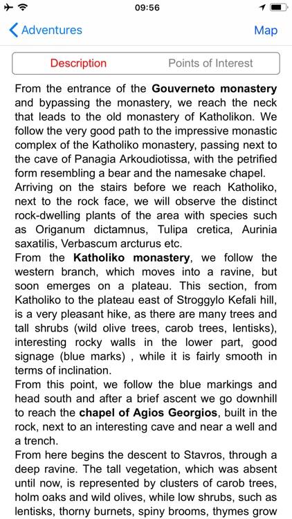 Crete: Chania topoguide screenshot-6