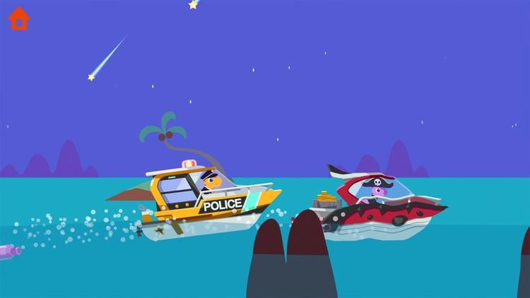 Dinosaur Police Car screenshot-7