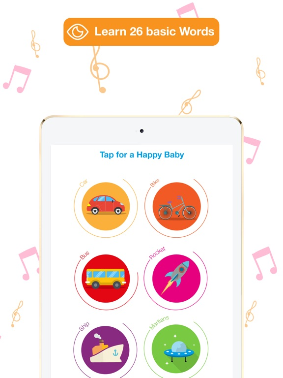 Screenshot #4 for Happy Baby: laugh & learn app