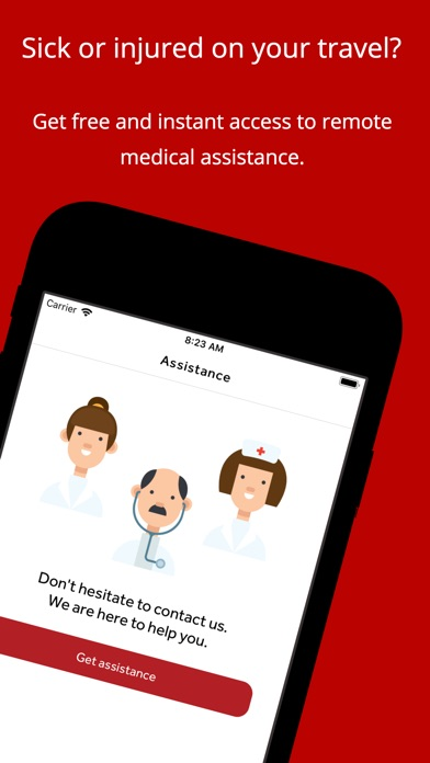 Screenshot for HelpMe in Denmark App Store