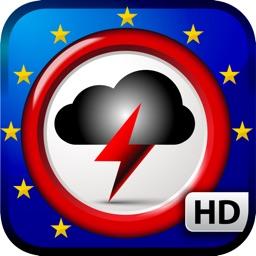 Weather Alert Map Europe