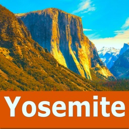 Yosemite National Park Map, CA