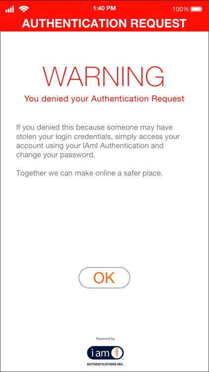 IAmI Authentication screenshot-3