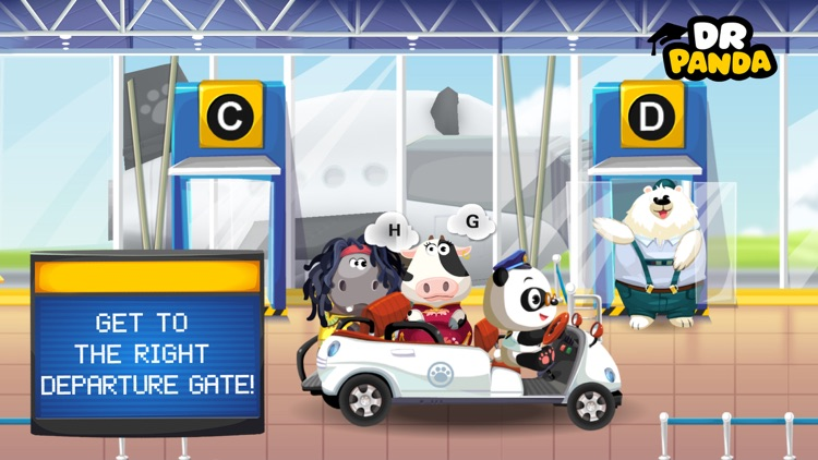 Dr. Panda Airport screenshot-2