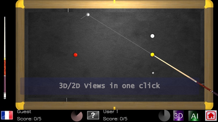 Carom Billiards screenshot-1