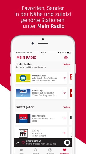 Radioplayer – Radio für alle Screenshot