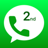 Second Phone Number -Texts App