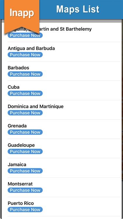 Seawell Caribbean Islands GPS screenshot-7