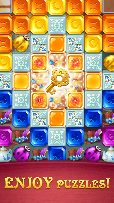 Gem Blast: Magic Match Puzzle screenshot 4
