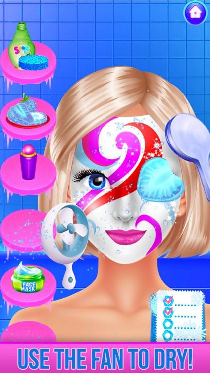 Ice Princess Face Paint Salon screenshot-9