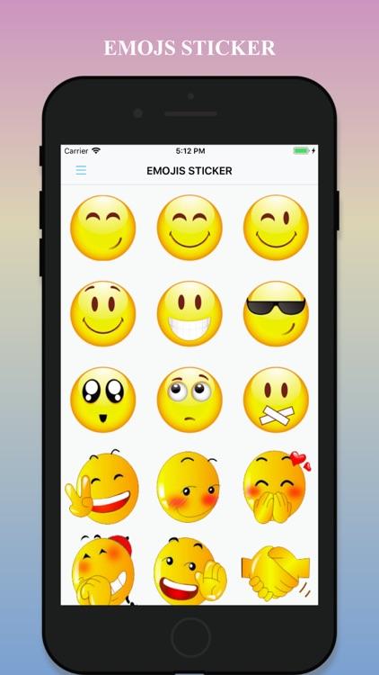 Emojis Sticker & Animated