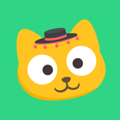 Studycat: Fun Spanish for Kids icon