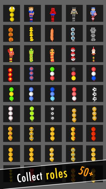 Balls Snake-Hit Up Number Cube screenshot-4