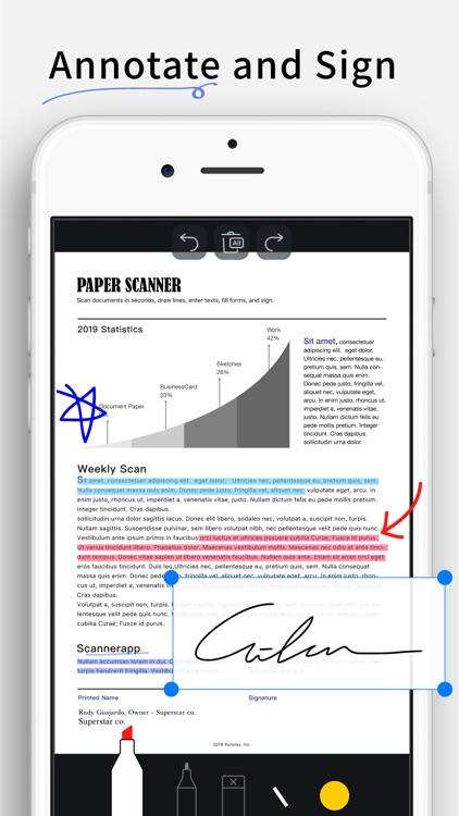 Scanner App - Scan Doc Fax PDF screenshot-6