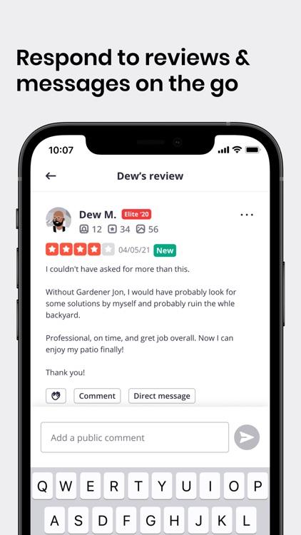 Yelp for Business screenshot-3