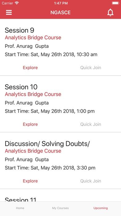 NMIMS- Distance Education App screenshot #3