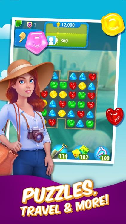 Gummy Drop! – A Match 3 Game screenshot-0