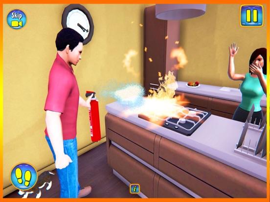 Happy Virtual Family Simulator screenshot 8