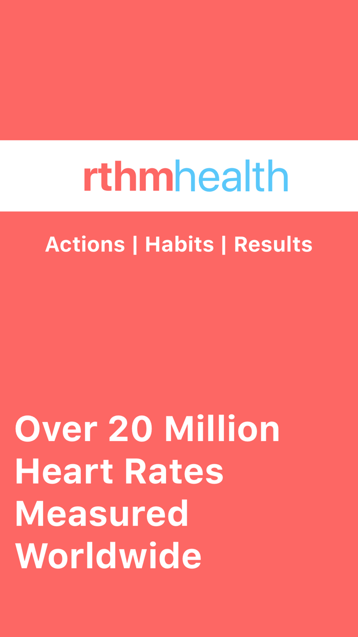 Rthm Health Screenshot