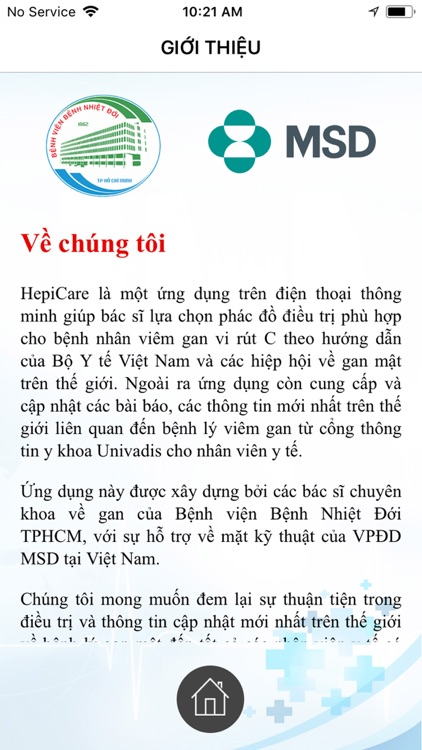 HepiCARE: Chẩn đoán VGSV C HCV screenshot-3