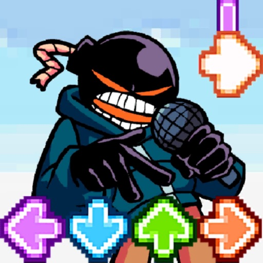 Music Fighter Whitty FNF Game Icon