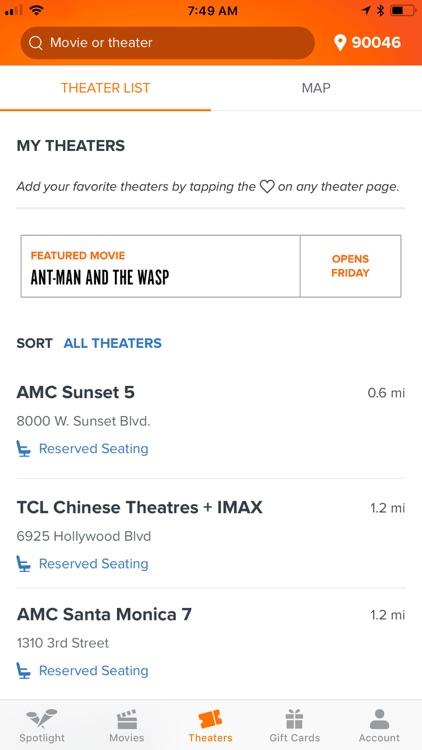 Fandango - Showtimes + Tickets screenshot-3