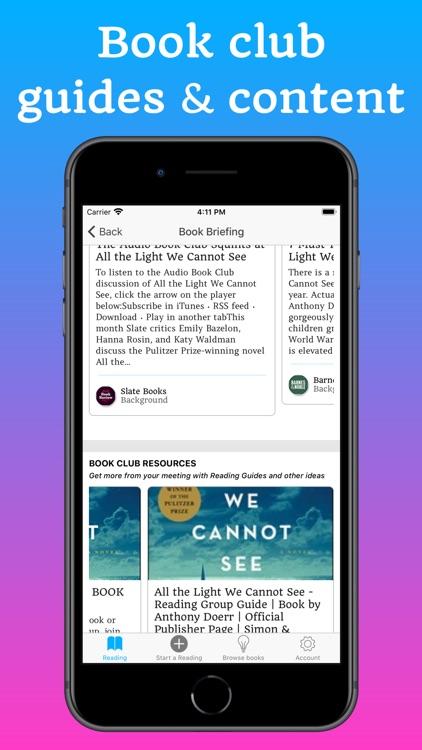 Bookship - A Virtual Book Club screenshot-4